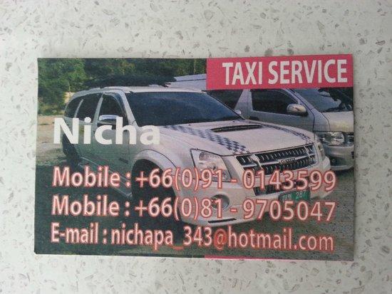 Avista Hideaway Phuket Patong, MGallery by Sofitel : Nicha Private Driver