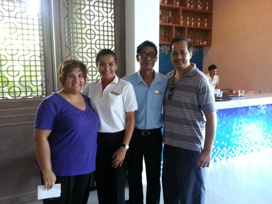 Avista Hideaway Phuket Patong, MGallery by Sofitel : Us with Nitichai & Julienne L