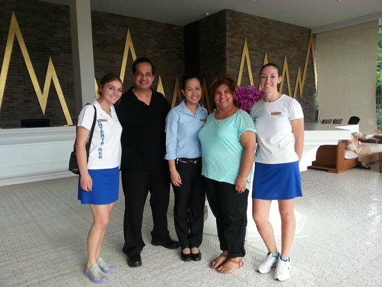 Avista Hideaway Phuket Patong, MGallery by Sofitel : Us with Maya, Vicky & Jelena