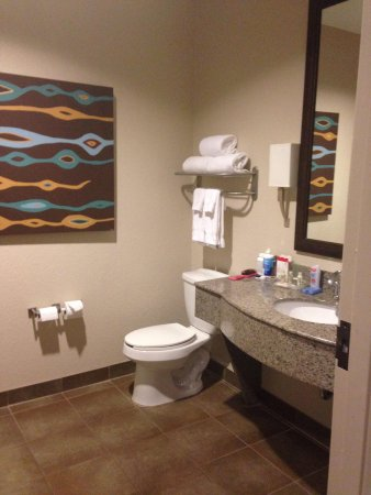 Holiday Inn San Antonio NW - Seaworld Area : Large and clean bathroom