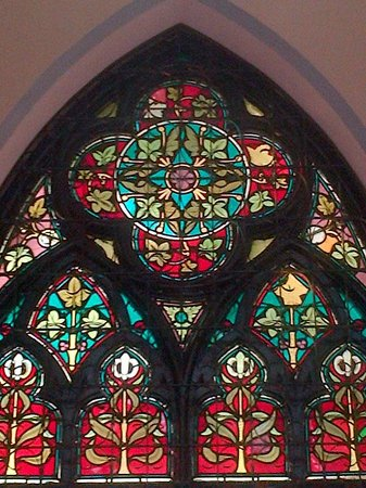 Jakarta Cathedral: beautiful stained glass