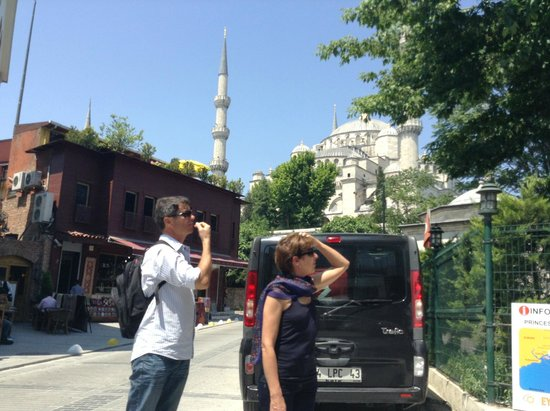Blue Mosque: вид сбоку