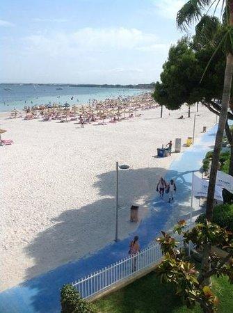 Beach Garden: utsikt fra rommet.