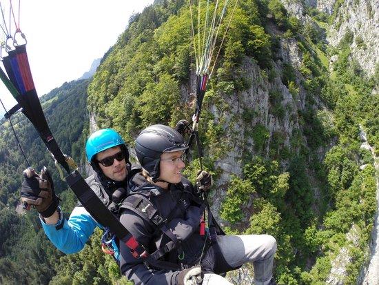 Joyride Paragliding: Auf der Suche nach Termik