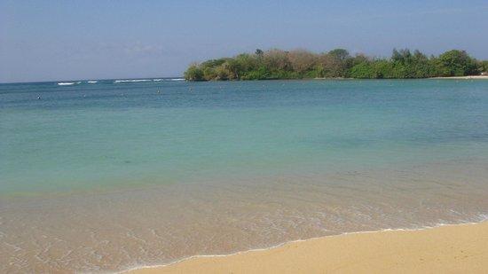 Melia Bali Indonesia : море возле отеля (когда оно есть)