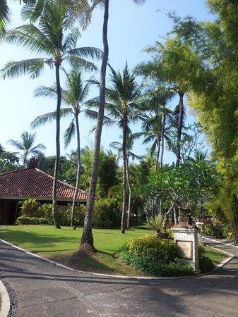 Melia Bali Indonesia : территория отеля