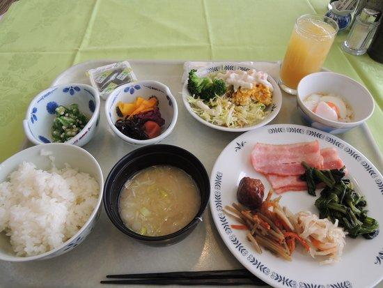 Kura Hotel Ichinoseki: 朝食