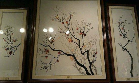 XQ Hand Embroidery: Триптих. Тень - это тоже вышивка.