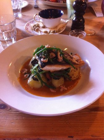 The Goods Shed Restaurant: Wild trout with shrimps - Rafeal's @ The Goods Shed