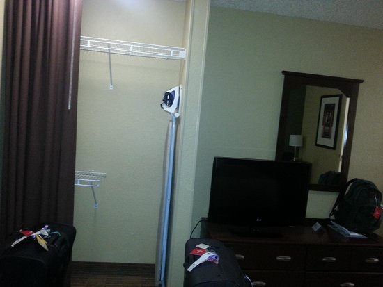 Extended Stay America - Orlando Theme Parks - Major Blvd. : Cupboard space, iron and ironing board