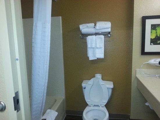 Extended Stay America - Orlando Theme Parks - Major Blvd.: Bathroom