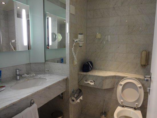 Radisson Blu Hotel, Amsterdam: Marble bathroom