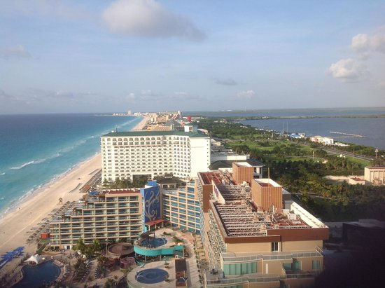 Secrets The Vine Cancun: View from Room