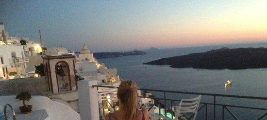 Villa Renos: View from room/balcony
