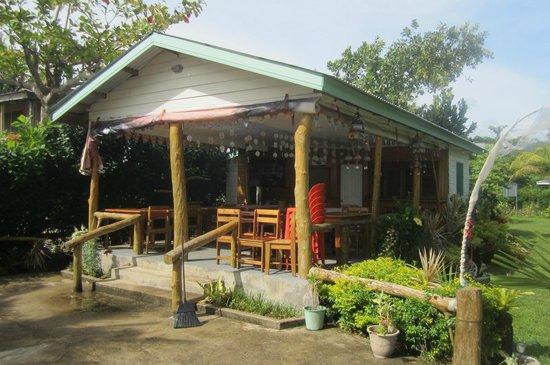 Taumesina Hideaway: Breakfast area