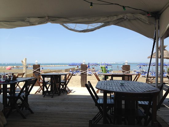Port Camargue, France : Vue depuis le restaurant