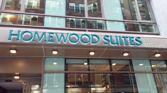 Homewood Suites by Hilton New York/Midtown Manhattan Times Square-South, NY: Outside, Front of Hotel