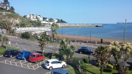 Premier Inn Torquay Hotel: view from our bedroom window at the hotel