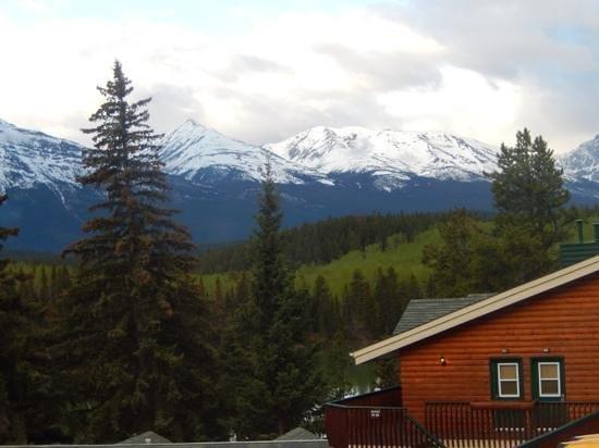 Pyramid Lake Resort: view from lodge
