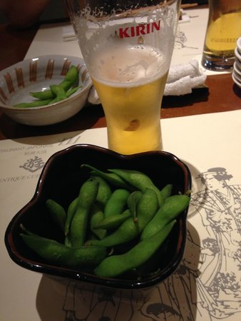You : 枝豆とキリンビール