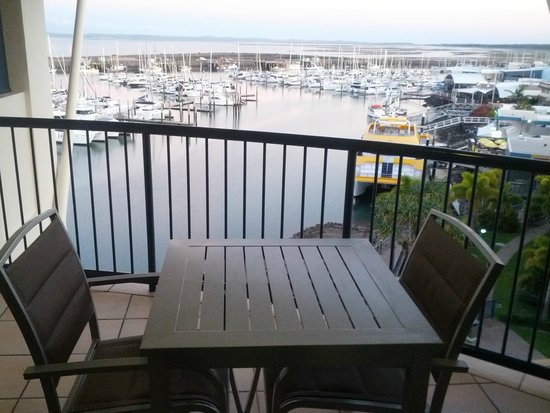 Mantra Hervey Bay: view from balcony