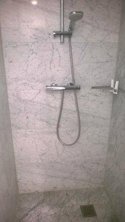 Hyperion Hotel Dresden am Schloss: The shower room