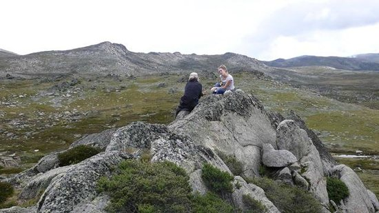 Mount Kosciuszko National Park: View from Mt Kosciuszko Lookout