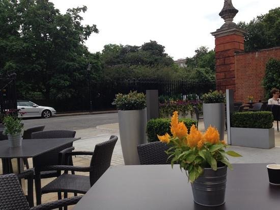 Club Quarters Hotel, Lincoln's Inn Fields: terrace