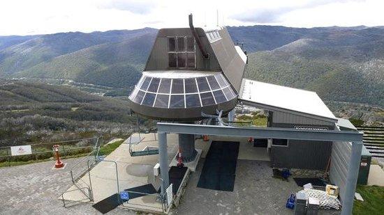 Mount Kosciuszko National Park: Eagles Nest Restaurant at 1937 m elevation - above Thredbo Village