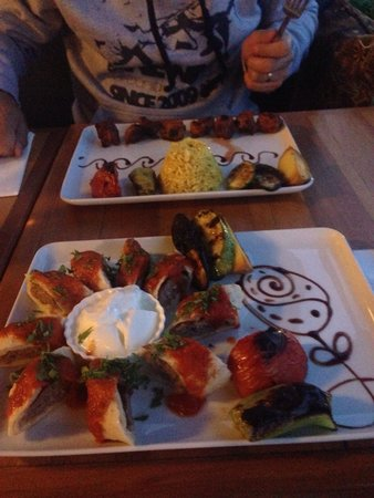 Cheers Soul Kitchen : Delicious kebabs, beautifully presented.