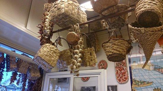 Pizzeria Napoli In Bocca: décor traditionnel