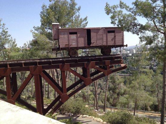 Yad Vashem -  The World Holocaust Remembrance Center: Train