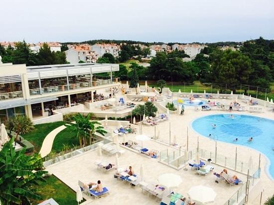 Valamar Zagreb Hotel: Blick aus Zimmerfenster