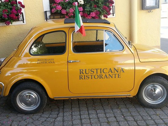 Eingangsbereich Mobile - Picture of Rusticana, Augsburg ...