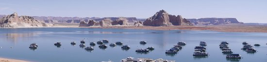 Lake Powell Resort : Love the view of the lake and boats