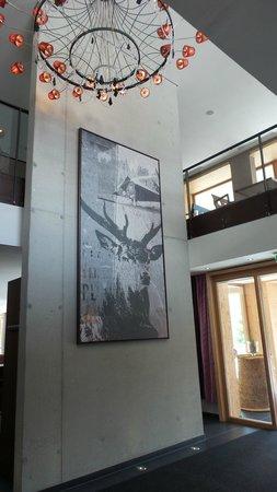 Das Kronthaler: Reception entrance