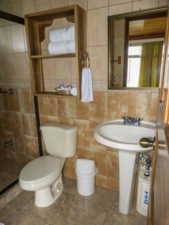 Hotel Miradas Arenal: baño