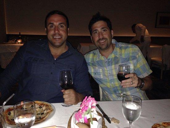 Nebbiolo Ristorante: Wine with my cousin