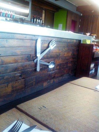 ​Byward Kitchen and Bar: Quirky decor