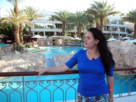 Leonardo Club Hotel Eilat: הבריכה, קצת לפני ארוחת הערב :)