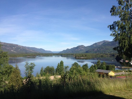 Vradal Hyttegrend: View from our cabin