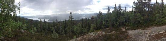 Vradal Hyttegrend: The obligatory panorama shot ;o)
