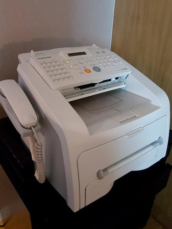Maduzi Hotel: In-room printer