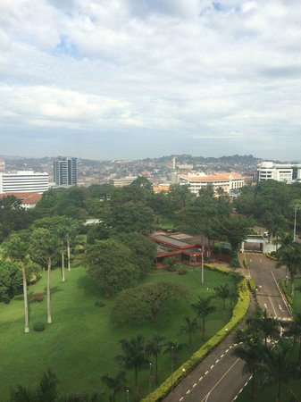 Sheraton Kampala Hotel: View from our room on Lvl 8