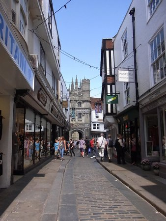 Canterbury Cathedral: 入口