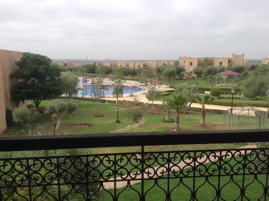 Marrakech Ryads Parc & Spa : view from our balcony