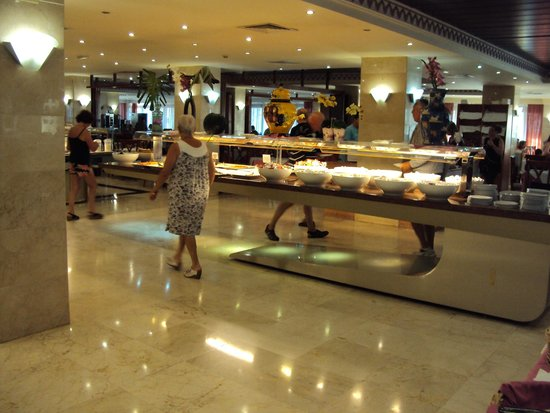 Hotel Pueblo Camino Real : salle à manger
