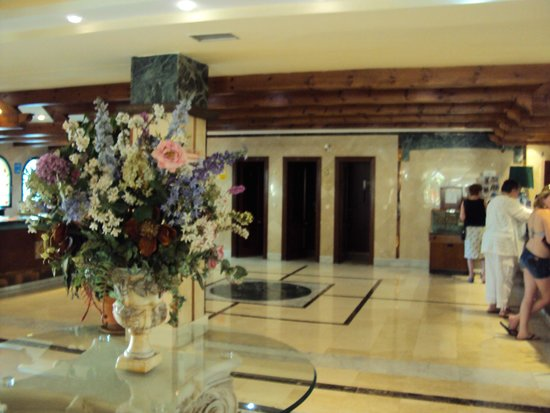 Hotel Pueblo Camino Real : hall hotel