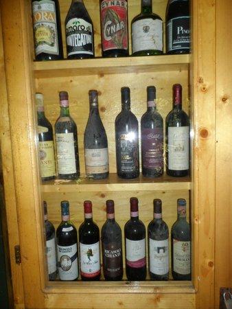 Parco Gallorose : vino sposto nell museo