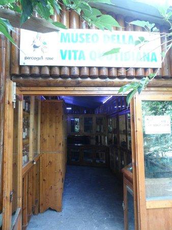 Parco Gallorose : qui e un altra area museo
